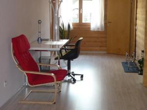 Das Fitnesscenter und/oder die Fitnesseinrichtungen in der Unterkunft Apartment Limburg