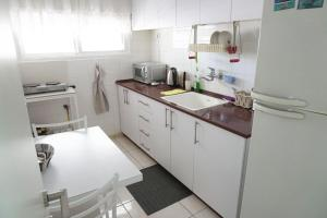 A kitchen or kitchenette at Dead Sea Yehuda Apartments
