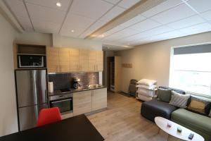 A kitchen or kitchenette at K16Apartments