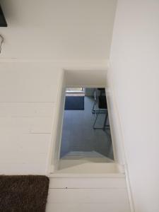 A bathroom at Lägenhet Färjestaden