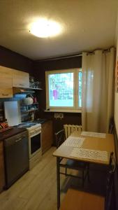 A kitchen or kitchenette at Apartment Many Extreme