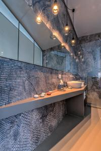 A bathroom at The First - La Vista di Marina