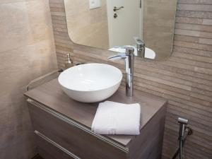 A bathroom at Apartment Edificio Playamar II