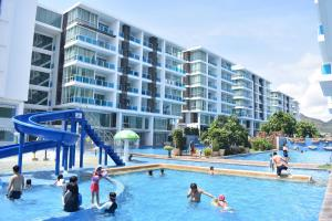 The swimming pool at or close to My resort Huahin by D511