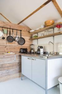 Küche/Küchenzeile in der Unterkunft Beachview Apartment