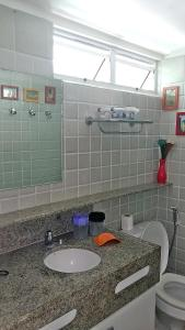 A bathroom at Flat Ancorar 2201