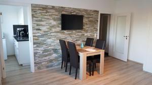 TV/Unterhaltungsangebot in der Unterkunft Ambiente Apartment