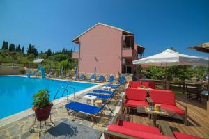 The swimming pool at or near Othonas Apartments