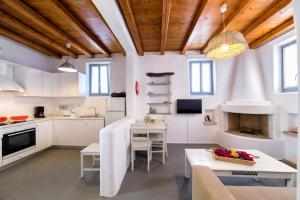 Η κουζίνα ή μικρή κουζίνα στο Aegean Colors Koufonisia Houses