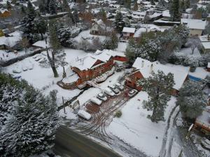 Apart Hotel Del Arroyo durante el invierno