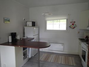 Cuisine ou kitchenette dans l'établissement Freja