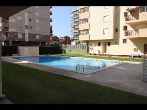 The swimming pool at or close to Apartamentos Vacacionales Geminis