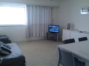 Télévision ou salle de divertissement dans l'établissement Résidence La Garenne