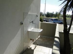 A bathroom at Villino Orsa Maggiore