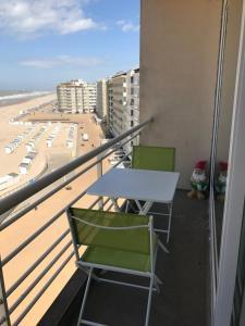 Ein Balkon oder eine Terrasse in der Unterkunft Apartment S7