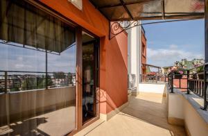 A balcony or terrace at CasaAparta
