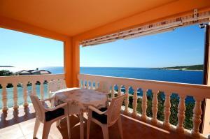 Balkón nebo terasa v ubytování Apartments Marijo