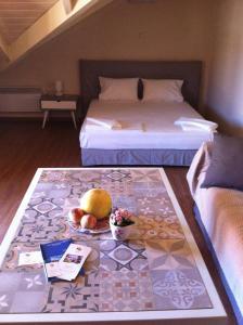 Ένα ή περισσότερα κρεβάτια σε δωμάτιο στο Monteduca Apartments