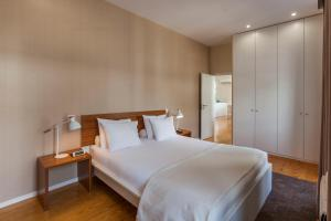A bed or beds in a room at BO - Fernandes Tomás