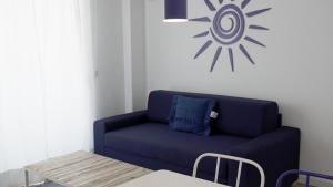 A seating area at Aparthotel Fleming 50 - Adults Only