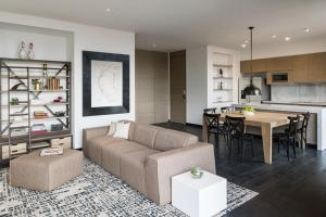 A seating area at 8010 Urban Living