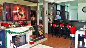 Restoran ili neka druga zalogajnica u objektu Vivendas do Lago Canela