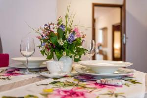 Restaurace v ubytování Galeria Italiana Apartments