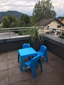 Ein Balkon oder eine Terrasse in der Unterkunft Jaky´s Penthouse