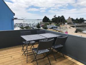 Balcon ou terrasse dans l'établissement Le Loft du Cargo