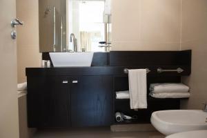 Vonios kambarys apgyvendinimo įstaigoje Alta Piazza –Casa di Appartamenti–