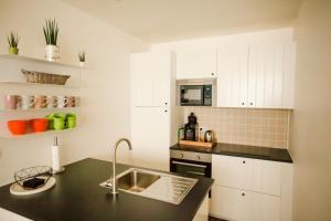 Küche/Küchenzeile in der Unterkunft Maison d'O