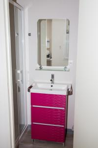 A bathroom at Albiappart