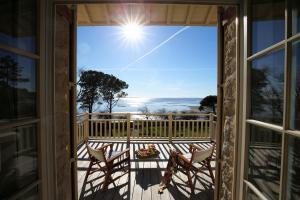 A balcony or terrace at Villa La Tosca