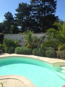 The swimming pool at or near La Maison rose