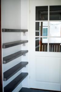 A bunk bed or bunk beds in a room at Holiday Home Stranda Porvoo Center