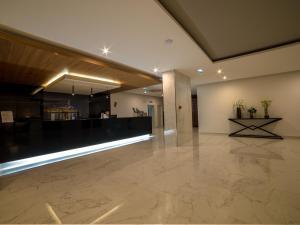 The lobby or reception area at Flor Da Rocha
