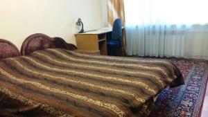 Vuode tai vuoteita majoituspaikassa Apartment on Lebedeva