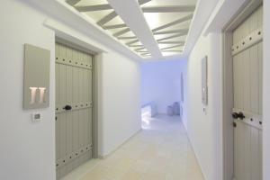 A bathroom at Glykeria