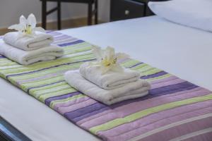 A bed or beds in a room at Protaras Villa Villa Protamare