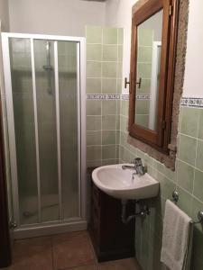 Ein Badezimmer in der Unterkunft Case Ballerini