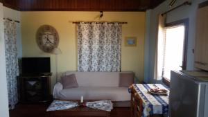 A seating area at Villa Corali