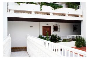 A balcony or terrace at Apartamentos del Rey