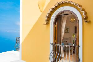 A balcony or terrace at Villa Degli Dei Luxury House