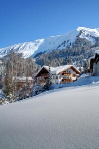 Haus Kristina im Winter