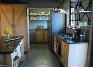 A kitchen or kitchenette at Monte Video-Deo Gloria
