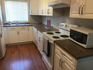 Una cocina o zona de cocina en Kirschner Mountain Suite