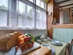Breakfast options available to guests at English Cottage in Hastings Kent with Coal Burning Stove