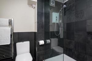 A bathroom at Balmoral Apartment