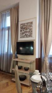 TV/Unterhaltungsangebot in der Unterkunft Jilská 449/14