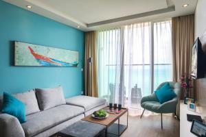 Гостиная зона в Citadines Bayfront Nha Trang